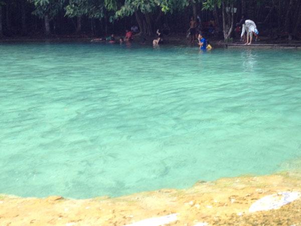Crystal Lagoon near Krabi Town