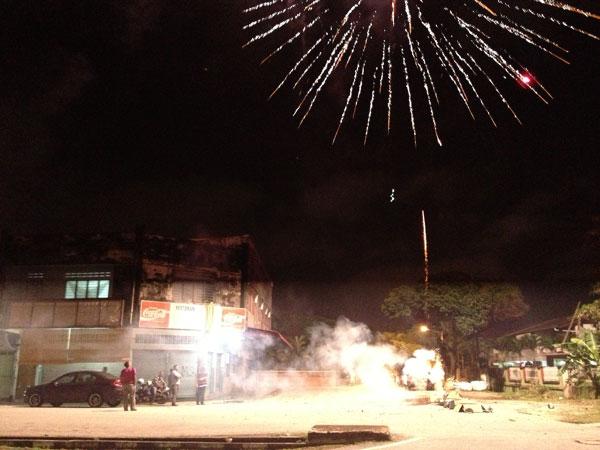 CNY pyrotechnics