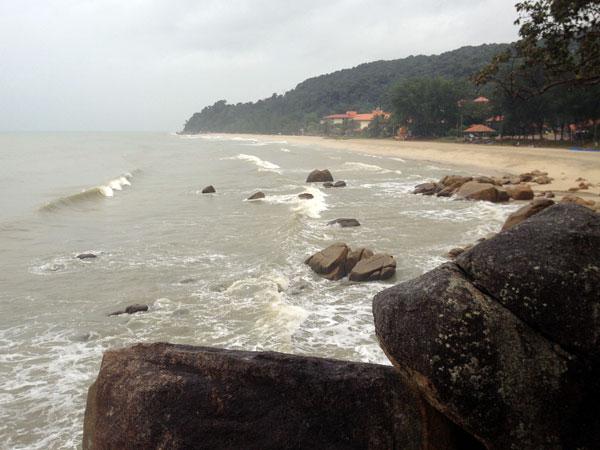 Telok Cempedak beach