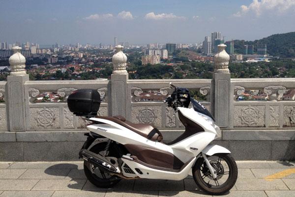 view from kuan yin