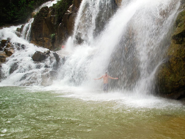 Sungai Pandan waterfalls