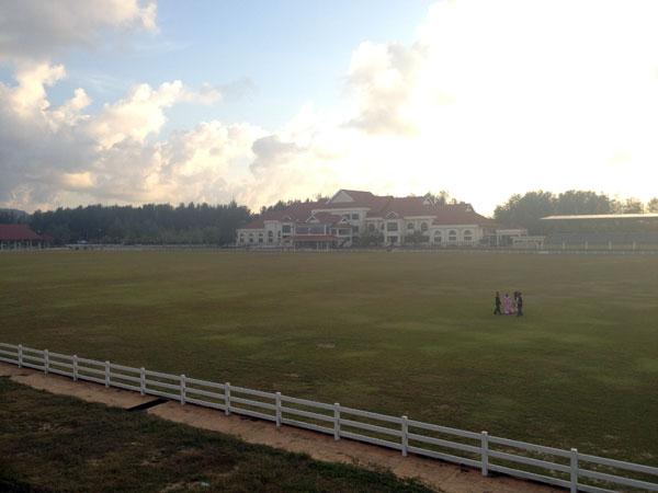 sports club by the beach