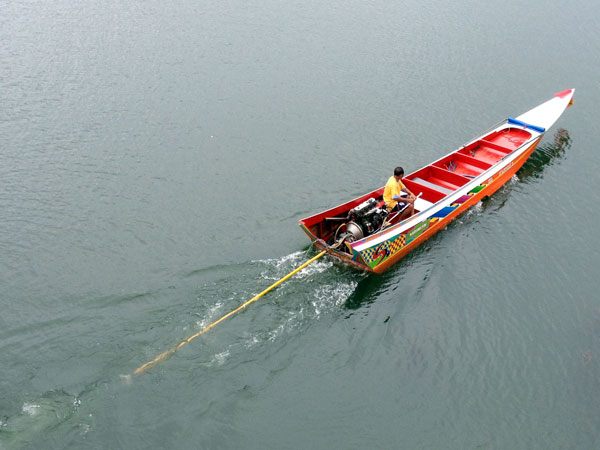 river taxi @ Kanchanaburi