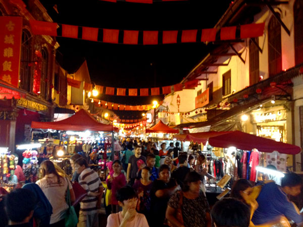 jonker street on a friday night