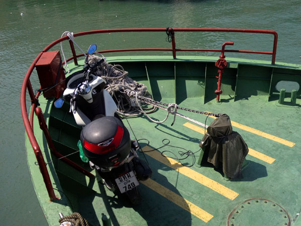 ferry over to pangkor island