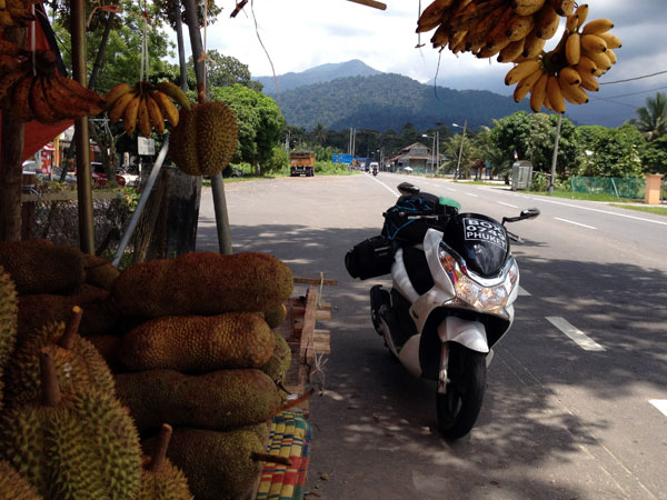 pitstop on route to pangkor island