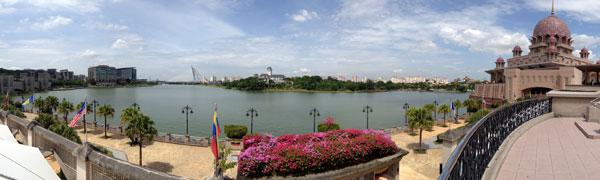 putrajaya waterfront - a bit like milton keynes