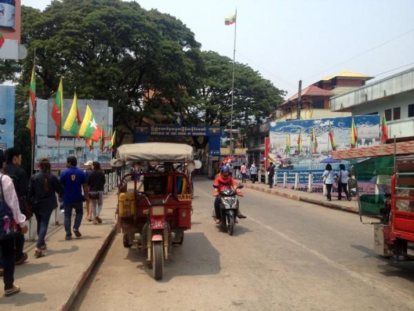 Mae Sai border